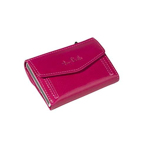 Tony Perotti TY/CC/3700, Furbo Kreditkartenetui mit Papier und Münzgeldfach (Pink) - 3700 Papier
