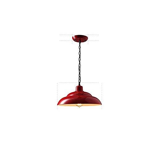 Retro Industrielle Eisen Metall Lampenschirm Deckenpendelleuchte Vintage Amerikanische Kette Einstellbarer Kronleuchter Küche Buffet Restaurant Bar Hängeleuchte, b -