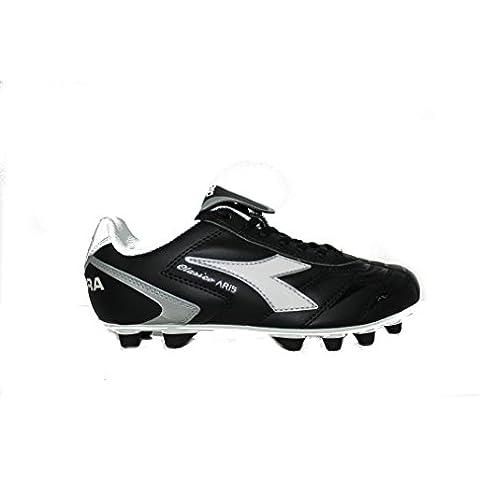 Diadora Clasico Aris Ballet Black %2FWhite Fútbol Para Hombre Black/White Talla:39