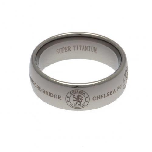 all Team, 1Stück Super Titanium Ring klein, mittel & groß Medium Chelsea F.C. Super Titanium Ring Medium (Fußball Ring)