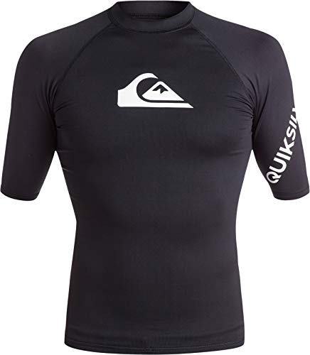 Quiksilver All Time - Lycra Manches Courtes UPF 50 pour Homme - Lycra Manches Courtes UPF 50 - Homme