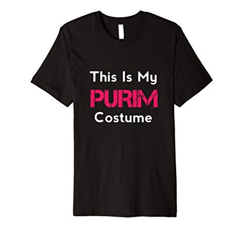 Dies ist mein Purim Kostüm Jüdisches Glückliches Purim ()