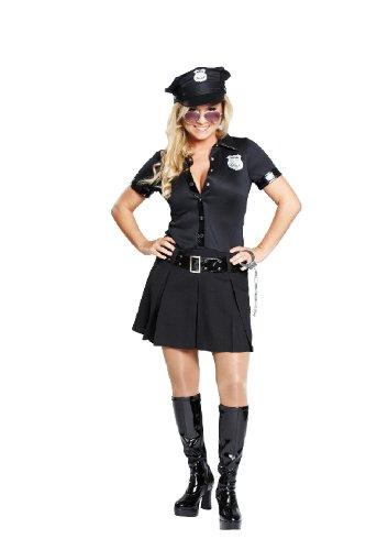 Karneval Damen Kostüm sexy Polizistin verkleiden an Fasching Gr.40