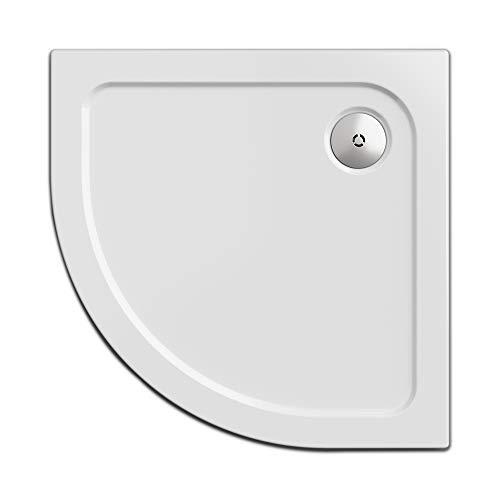 Simplex Duschwanne 90 x 90 cm, viertelkreis