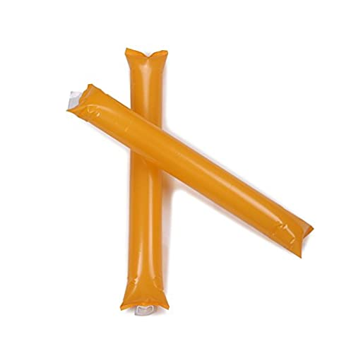 VENIMASEE Bam Bam Thunder Stick, Cheerleading Outfit, Inflatable Noisemakers, Clappers for Football & Sports Events