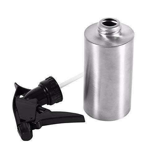 TYY-guang Edelstahl-Handpressen-Bewässerungs-Sprühflasche Gießkanne Spray Kessel Flasche Gartenpflanzen Blume Wasser-Dosen (250 ml)