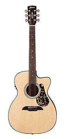 Framus FR FF 14SV Vsnt CE Legacy Folk Western Guitar with Pickup Natural Satin
