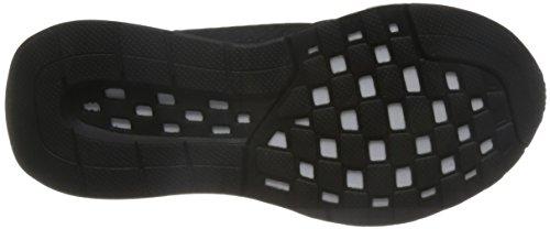 adidas Falcon Elite 5 Xj, Scarpe da Corsa Bambino Negro (Negbas / Plamet / Ftwbla)