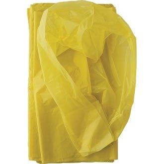 Colour sacco %2F-Sacchi per la spazzatura, colore: giallo, dimensioni 450 x 725 x 850 mm, 80 litri, confezione da 50 pezzi