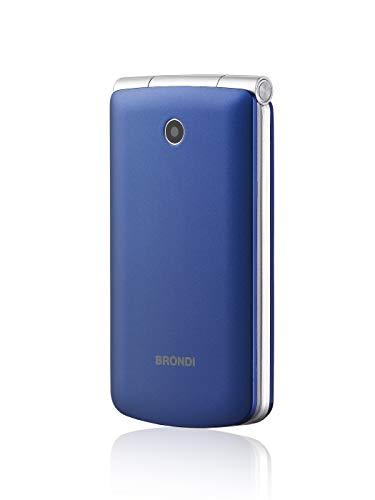 Brondi Magnum 3 Telefono Cellulare, Blu/Viola