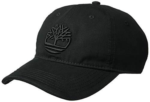 Timberland Herren Soundview Cotton Canvas Hat Kappe, Black/Logo, Einheitsgröße 4 Eye Moc Toe