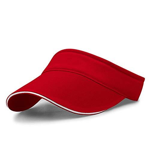 Golf Visor Für Damen (LiGG Unisex Visor Cap Sonnenhut Einstellbar Sommerhut mit Klettverschluss für Damen und Herren)