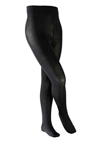 Falke Kinder Strumpfhose Cotton Touch, black, 152-164, 13870 (Baumwolle Kinder Strumpfhosen)