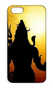 Mott2 Back Case for Apple iPhone 5 | Apple iPhone 5Back Cover | Apple iPhone 5 Back Case - Printed Designer Hard Plastic Case - lord Shiva theme