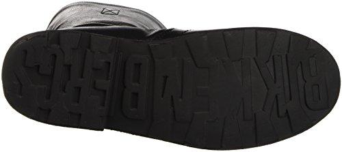Bikkembergs Vintage 736 Boot W S.Leather/Leather, Scarpe a Collo Alto Donna Nero