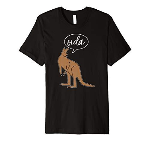 Oida T-Shirt Österreich Meme Wien Känguru T-Shirt