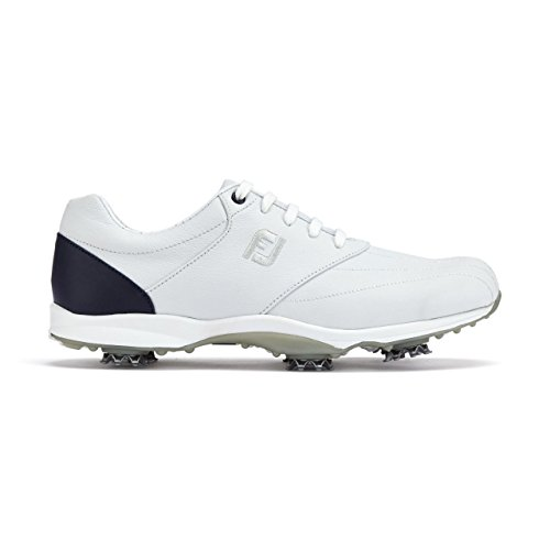 Footjoy Embody, Scarpe da Golf Uomo, Bianco (Blanco/Navy 96112), 38 2/3 EU