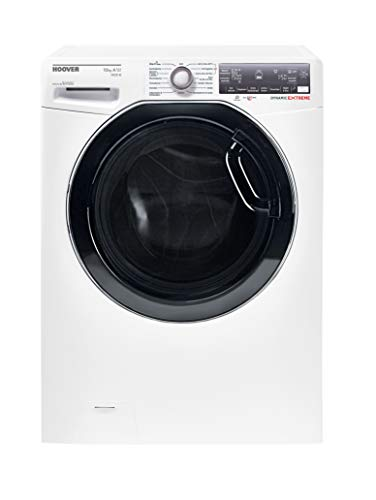 Waschmaschine Frontlader A+++ -50% 10kg Hoover DWFLSG410AH NFC+WiFi Aquastop LCD