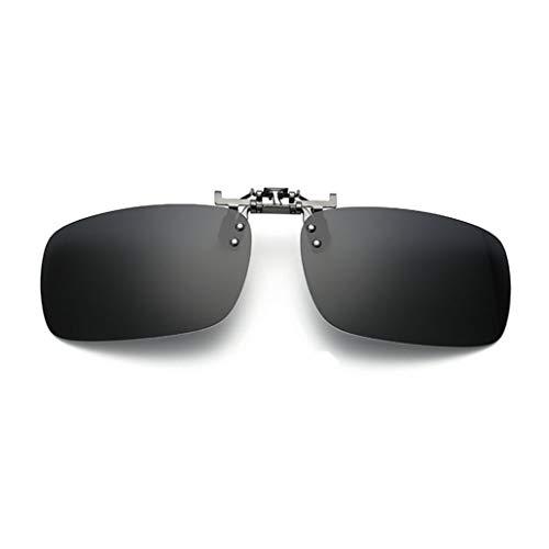 Clip-on Polarisiert Brille für Outdoor-Aktivitäten Metall Sonnenbrillen-Clip auf Flip Up polarisierte Linse Unisex