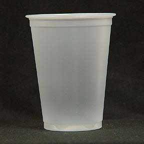 10OZ TRANSLUCENT PLASTIC CUP (100 CT.)