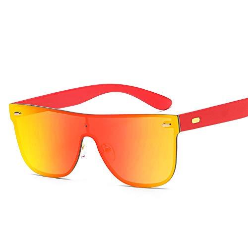 Herren Sonnenbrillen Sonnenbrillen für Männer und Frauen arbeiten klassische Outdoor-Sport-Sonnenbrillen LTJHJD (Color : Rot, Size : Kostenlos)