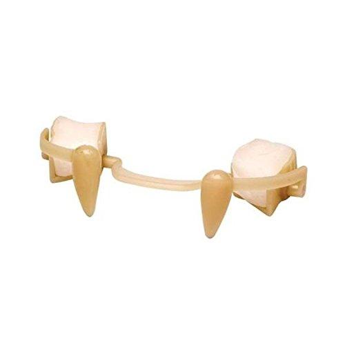 Einziehbarer Vampir Zähne Gebiss - (Einziehbare Zähne)