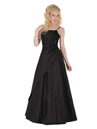 Envie/Paris - 1009 SOPHIA Abendkleid Ballkleid 1-teilig in Schwarz Gr.46 / 146cm