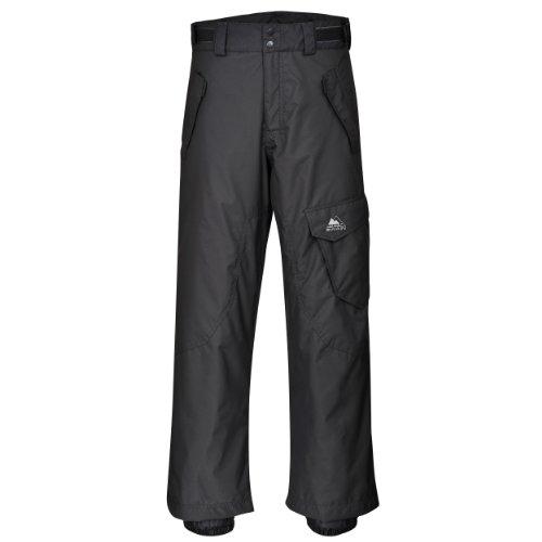 Cox Swain Herren 2-Lagen Ski & Snowboardhose Como, Colour: Dark Grey, Size: XL (Herren-xl-snowboard-hose)