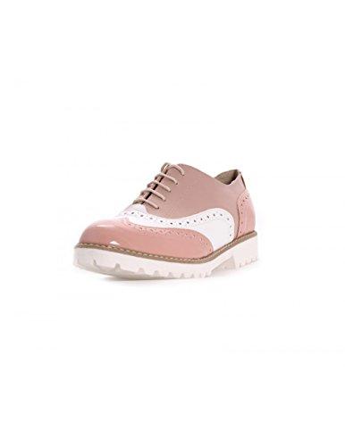 Studio Creazioni , Chaussures de ville à lacets pour femme Bianco