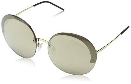 Emporio Armani Damen 0EA2044 Sonnenbrille, (Pale Gold), 61