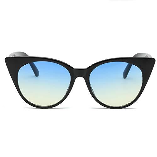 iYmitz Sonnenbrille Mode, Herren Damen Kleinen Rahmen So Strand Herz Sonnenbrille Brille Vintage Retro Stil Brillenträger Brillen Brille(Mehrfarbig,D)