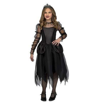 My Other Me - Disfraz Damisela Gótica, 7-9 años, Negro (205284)