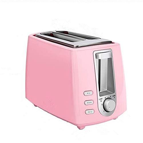 XCBW Kleiner, eleganter Toaster für das Frühstück zu Hause mit Hebel und rutschfesten Füßen - herausnehmbarer Krümelbehälter, tragbarer Brotbackofen für die Küche, perfektes Hochzeitsgeschenk