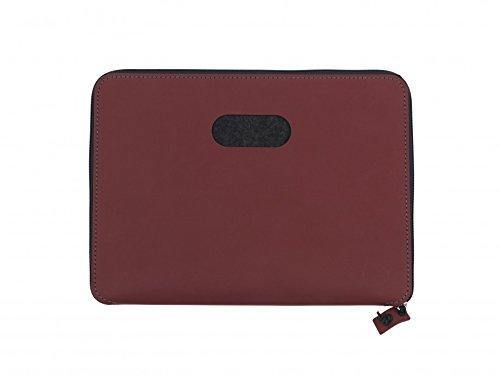 Laptoptasche Torro 13' von Lind DNA 35x26cm, Farbe:Nupo anthrazit/anthrazit Nupo rot/anthrazit