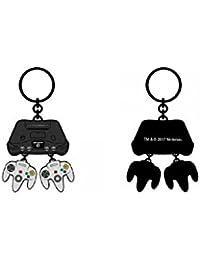 Bioworld Nintendo 64 Charm Keychain N64