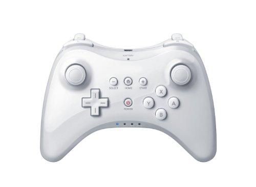 CITTATREND Dual Analog Wireless Joystick Gamepad Controller für Nintendo Wii U Pro Weiß