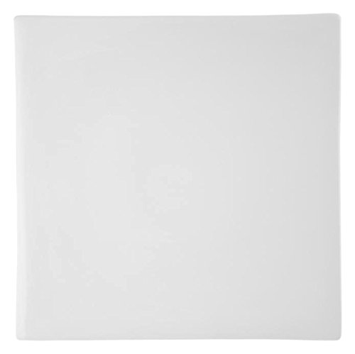 HOTELWARE Plaque Assiette Cadre, 38 cm, Porcelaine, Blanc