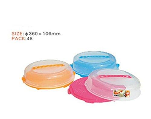 Errebi Cloche à gâteau basse 33 x H 8 cm - coloris assortis