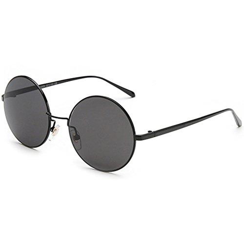 YaNanHome Sonnenbrillen Brillen & Zubehör New Style Sonnenbrille UV-Schutz Sonnenbrille Herren-Sonnenbrille Retro Prince Spiegel Runde Sonnenbrille Männer und Frauen Runde Rahmen Kleine Sonnenbrille