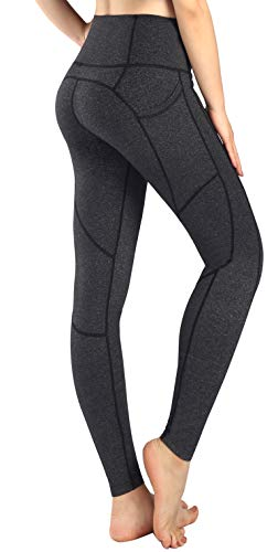81418f770a Sugar Pocket Womens Athletic Pants Workout Yoga Leggings Fitness Tights L