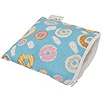 Itzy Ritzy Snack Happens Reusable Snack and Everything Bag, Donut Shop