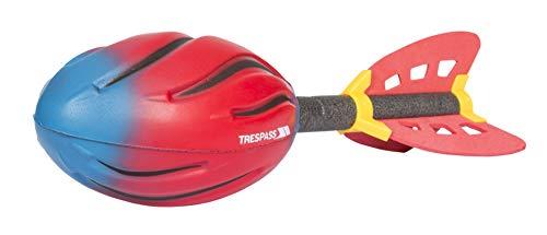 Trespass Blastoff für Wurfspiele Schaumrakete, Red/Blue, One Size