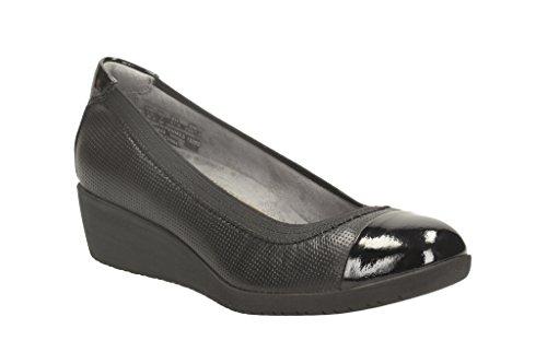 Ballerina scarpe per le donne, color Nero , marca CLARKS, modelo Ballerina Scarpe Per Le Donne CLARKS PETULA SADIE Nero