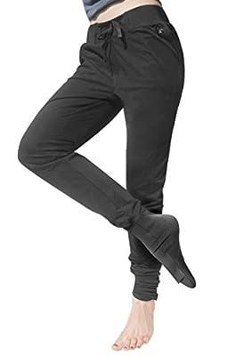 Panttoo, die erste Hose gegen kalte Füße. Schwarz, Unicolor mit Stulpe und wärmendem Fußteil. Y1. Im Hipster Turnbeutel verpackt.
