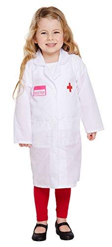 Doktor Kleinkinder Mädchen Kostüm Alter 3 Jahre