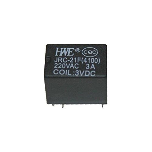 Relais JRC-21F4100 Printrelais 1 Wechsler 3V (0007) -