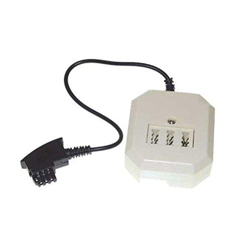 Adapter TAE-F Stecker an 3-fach TAE NFF und 1 x RJ11 Kuppl. VE=1