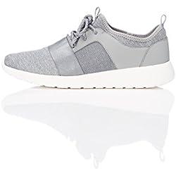 FIND Zapatillas Deportivas Para Mujer, Gris (Grey), 35.5 EU