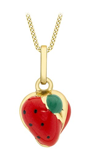 carissima-gold-9ct-yellow-gold-enamel-strawberry-pendant-on-curb-chain-necklace-of-46cm-18