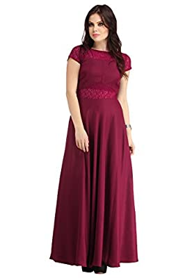Raas PrĻt Women's Crepe Flared Gown